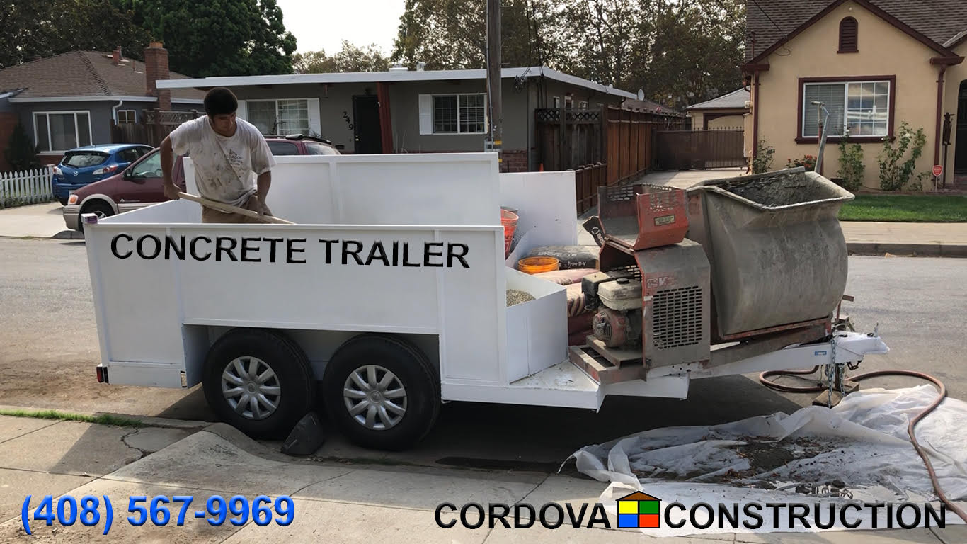 Concrete Trailer