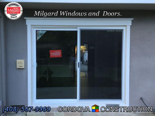 Milgard Patio Door