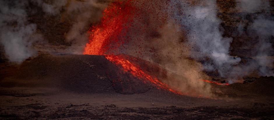 Comment voir l'éruption du Piton de la Fournaise (Avril 2021)