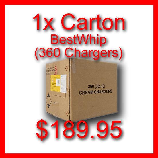 1 Carton (360) Cream Chargers