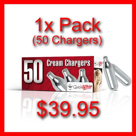 1x Box (50) Cream Chargers