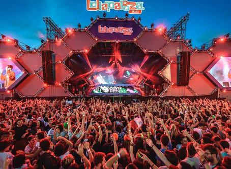 Lollapalooza 2020 será nos dias 3, 4 e 5 de abril