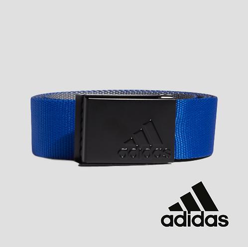 Adidas Reversible Web Belt Royal Blue / Grey