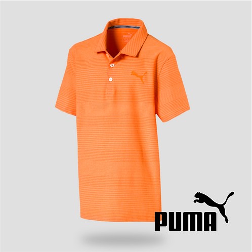 Pounce Ashton Polo Jr Vibrant Orange (JR)