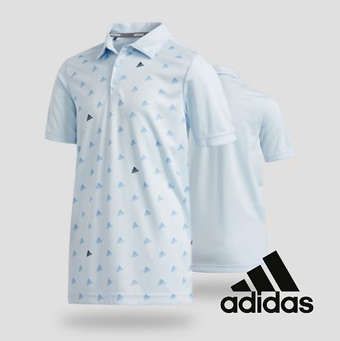 Adidas Boys Print Polo Skytin (JR)