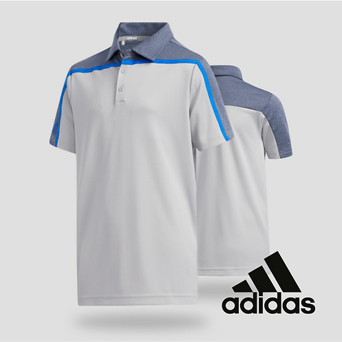 Adidas Boys Clear Black Polo Gretwo (JR)