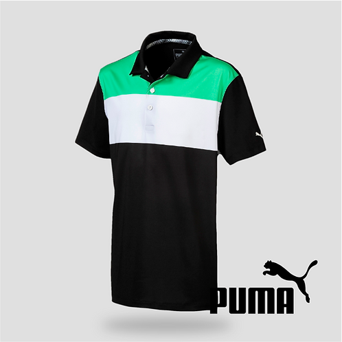 Nineties Polo Irish Green-Puma Black (JR)