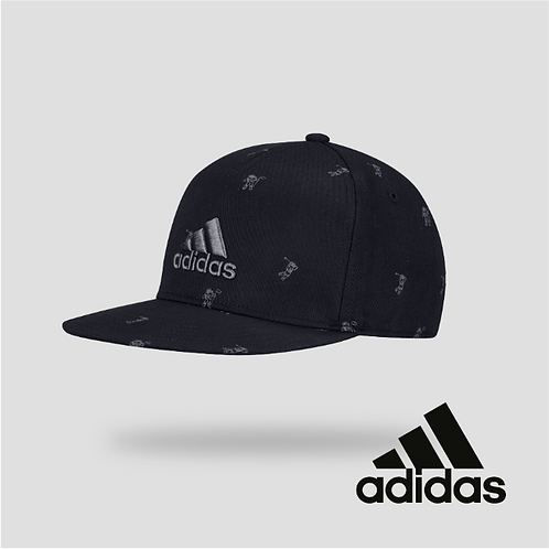 Adidas Flat-Bill Cap Black (JR)
