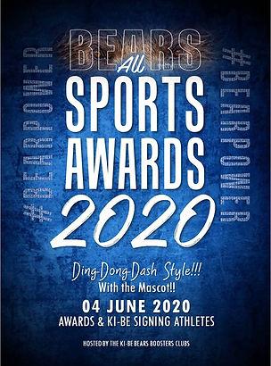 Sports Awards Annual Event Flier 2020 Fi