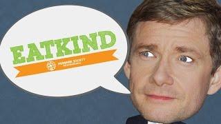 Martin Freeman wants us to Eat Kind