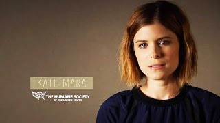 """The Martian"" Star Kate Mara Promotes Meatless Monday"