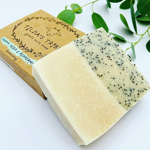 Tilda's Tribe Poppy Seed and Peppermint Soap