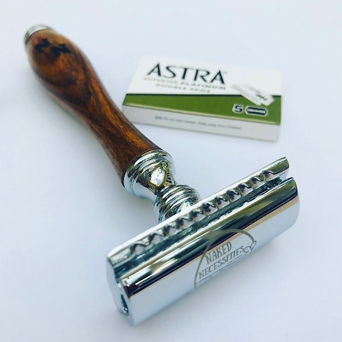 Traditional Safety Razor and Blades