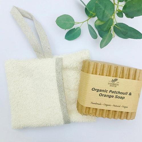 Organic Soap Bag