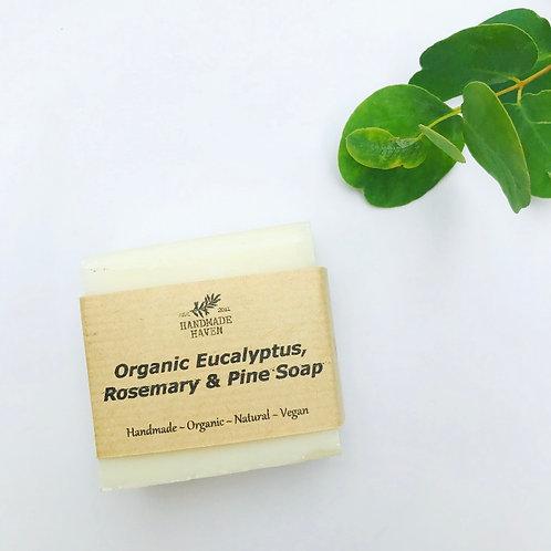 Organic Eucalyptus, Rosemary & Pine Soap