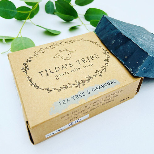 Tilda's Tribe Tea Tree & Charcoal Soap