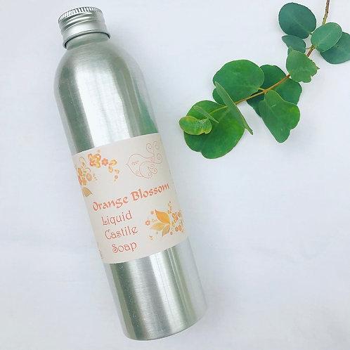 Liquid Castile Soap - Orange Blossom
