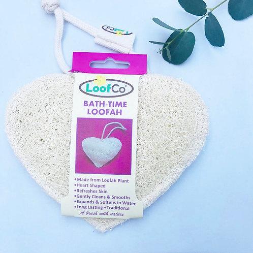 Bath Loofah - Heart Shaped