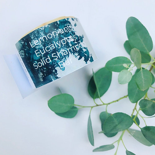 Shampoo Bar - Eucalyptus and Lemon