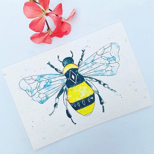 Plantable Seed Card - Bee