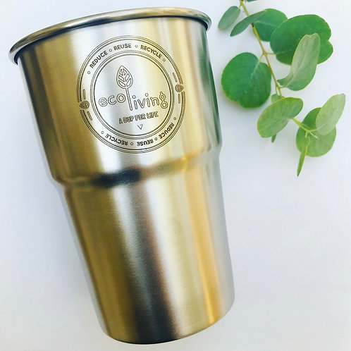 Stainless Steel Cup - UK Pint Size
