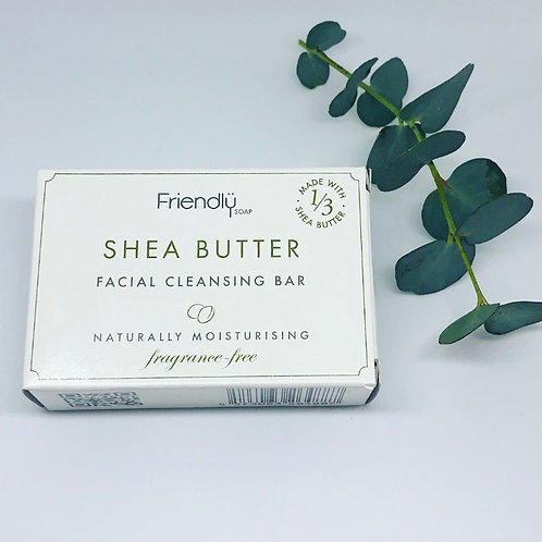Friendly Soap Shea Butter - Facial Bar