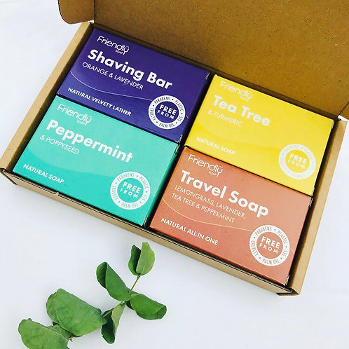 Friendly Soap - Travel Selection Box