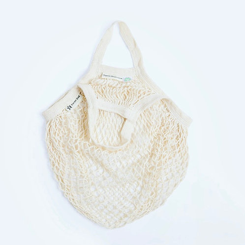 Organic Short Handled String Bag