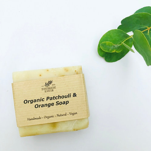 Organic Patchouli & Orange Soap