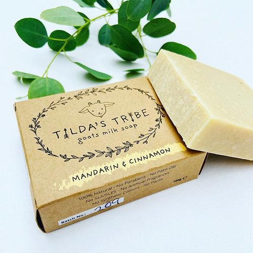 Tilda's Tribe Mandarin & Cinnamon Soap Bar