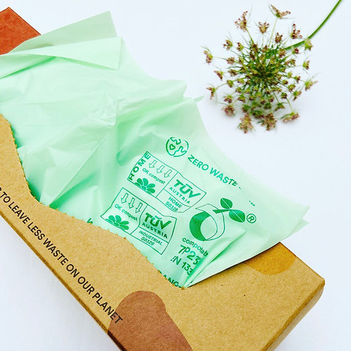 Compostable Bin Liners - Pack of 100