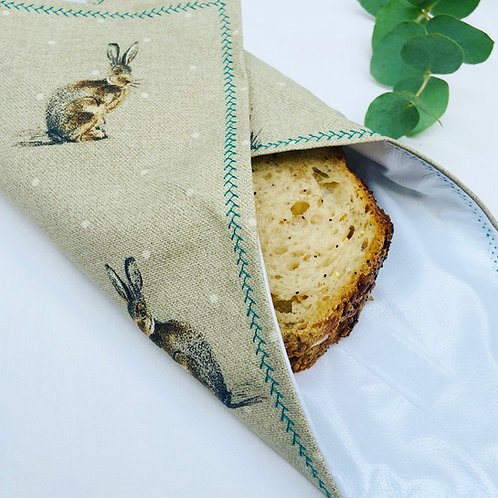 Reusable Sandwich Wrap - Hares