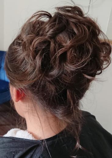 Weddign Guest Hair
