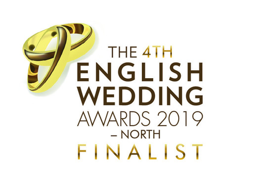 Finalist in the 4th English Weddign Awards North 2019!