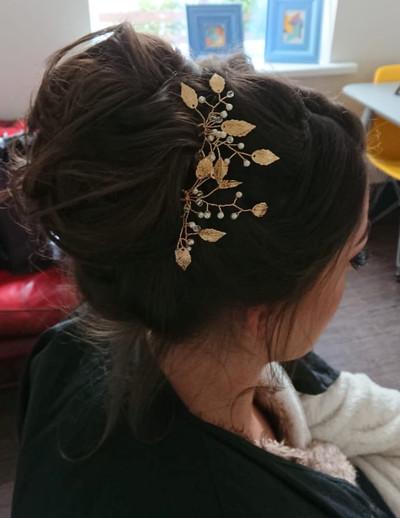 Hannah Wedding Guest Hair up Side.JPG