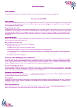 DATA PROTECTION POLICY (IMAGE 2)