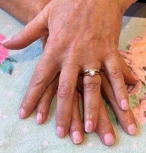 Fairy Dust Gel Nails