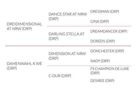 Origines D-Gold AT NRW, étalon poney de dressage allemand (DRP)