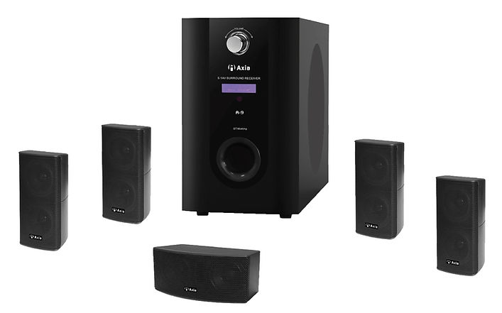 Axia A-9 surround speaker system