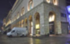 Decorazione vetrine Rinascente Piazza Duomo