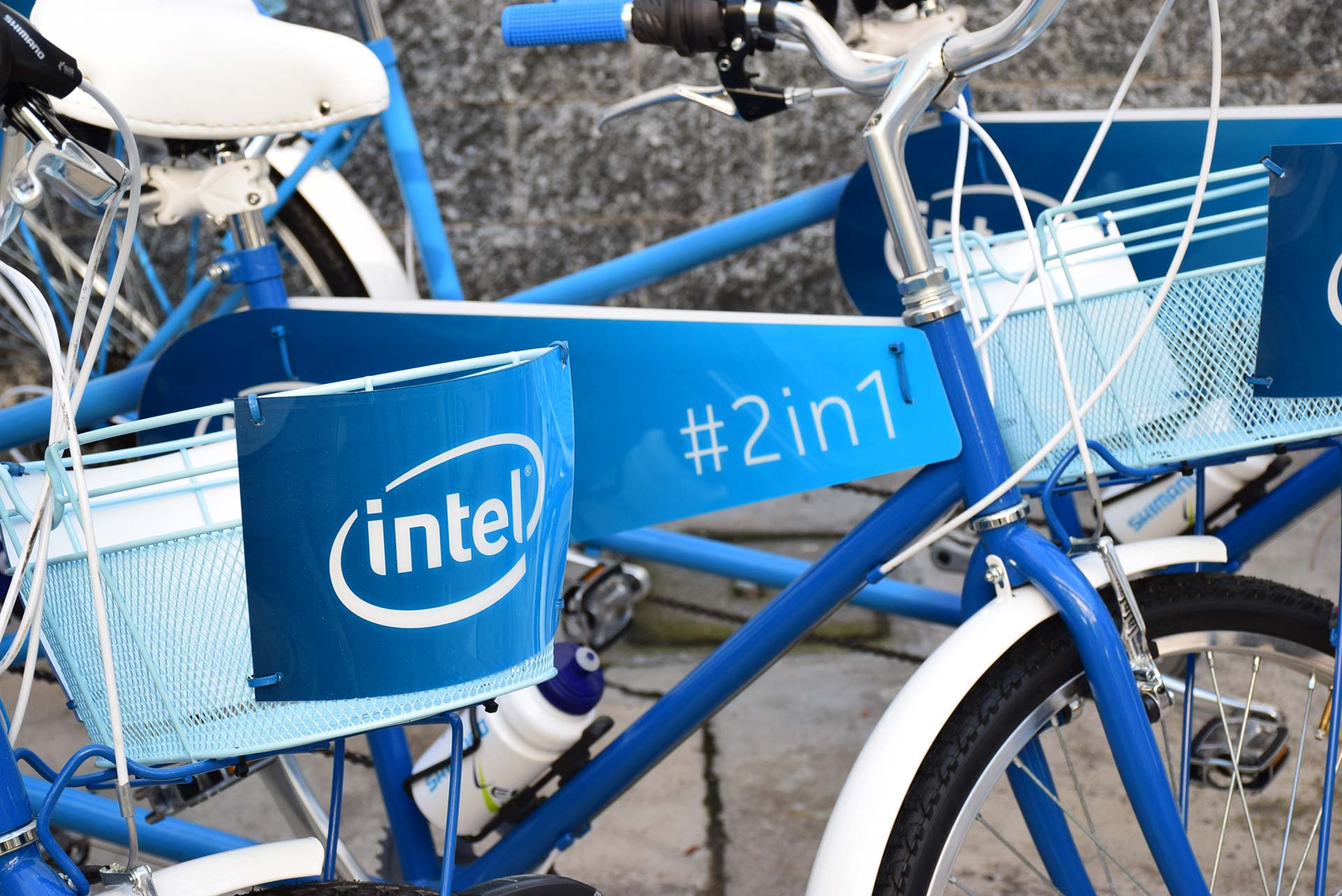 Intel #2in1 - Decorazione Cargo-bike