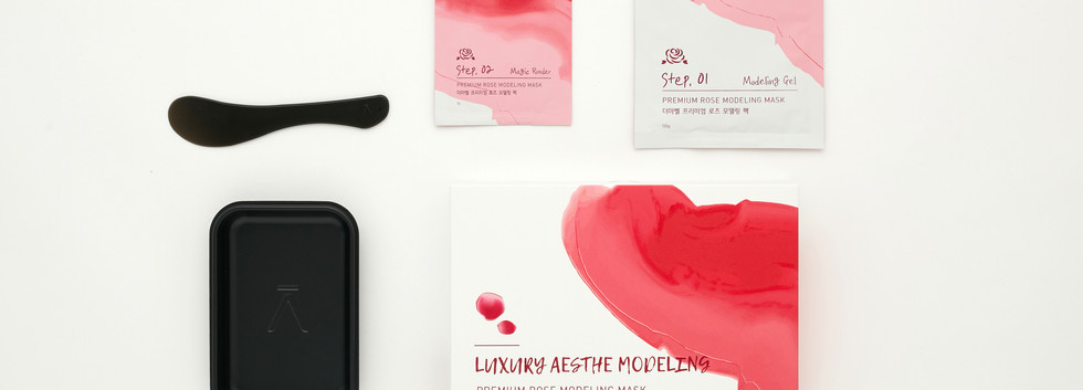 Premium Rose Modeling Gel Mask