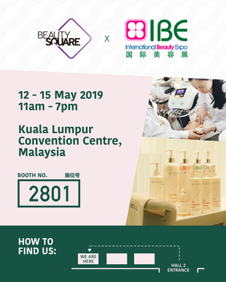 Come visit us at IBE in Kuala Lumpur!