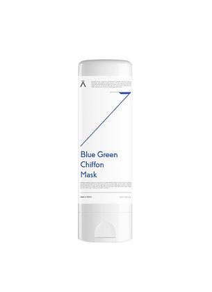 Blue Green Sherbet Mask (Chiffon Mask)