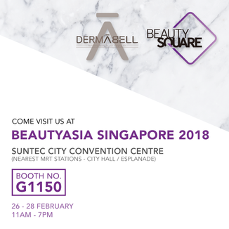 See you at the 22nd Edition of BeautyAsia Singapore!