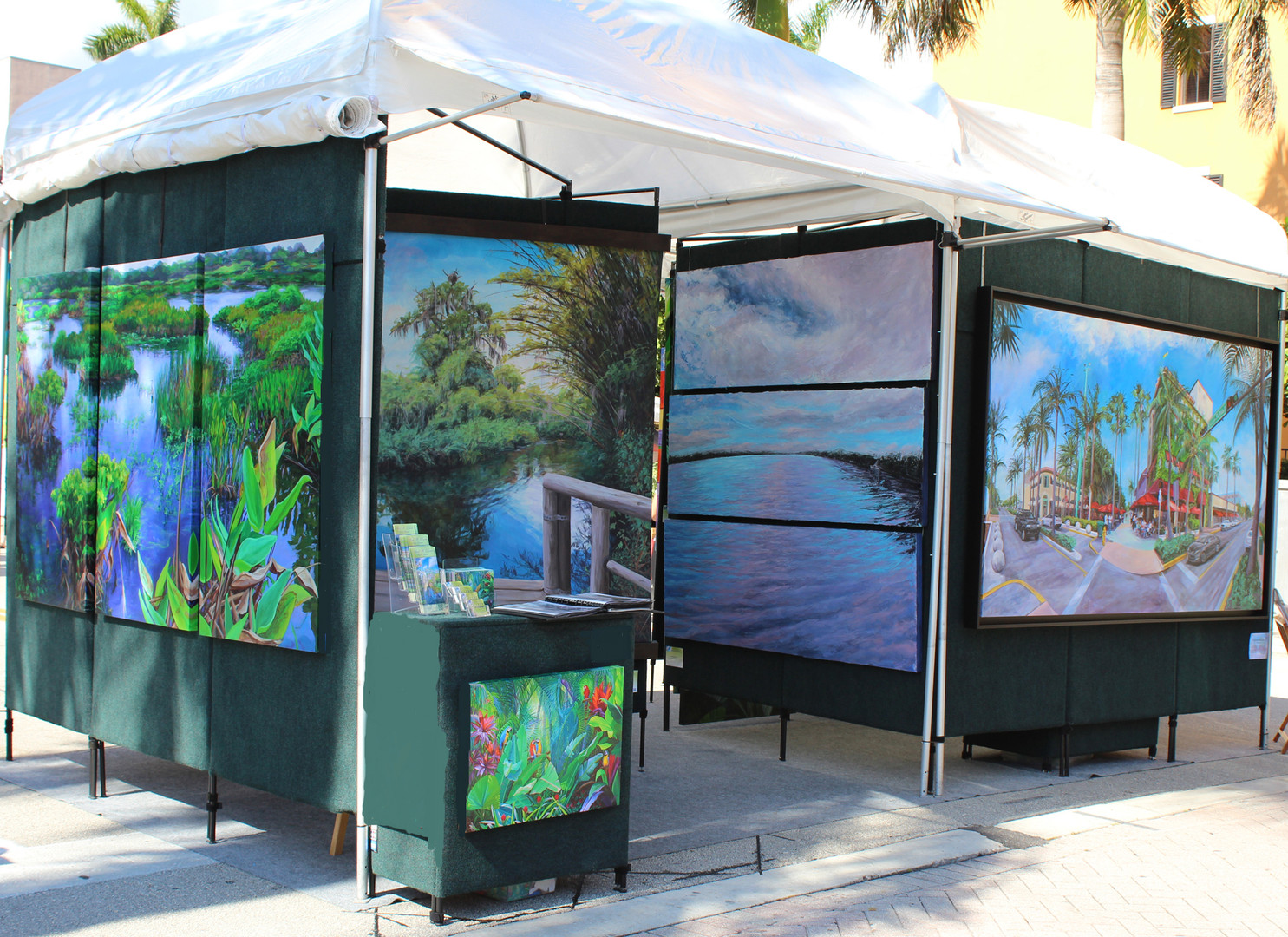 Delray Beach Booth