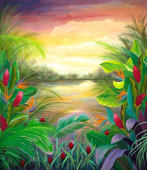 Tropical Landscape I0
