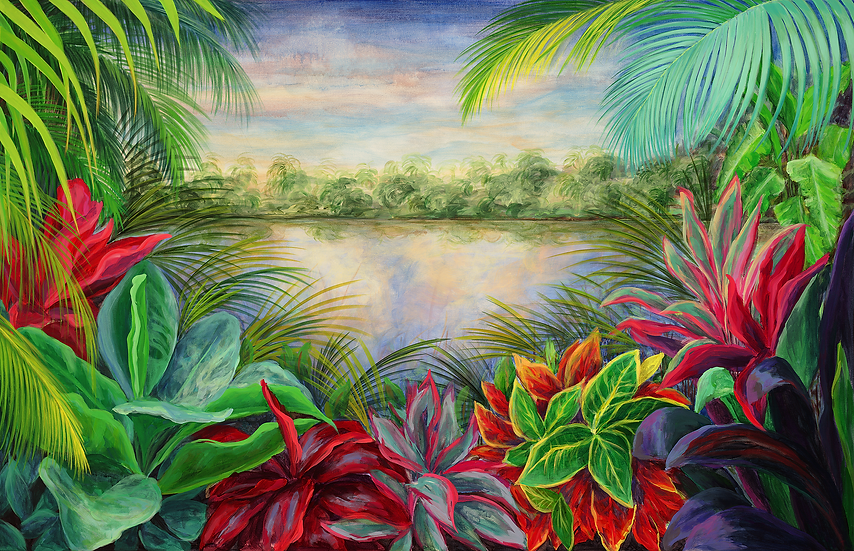Tropical Landscape VI