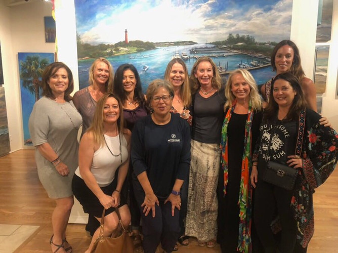 Jupiter Inlet Foundation Gallery Event