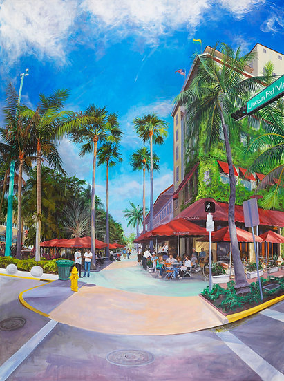 Lincoln Road I - South Beach, Miami,FL